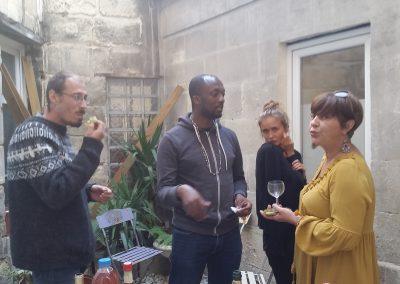 Photo de groupe des membres de l'institut Européen de sophrologie humaniste de Bordeaux